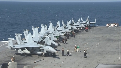 US aircraft carrier's Indo-Pacific deployment begins