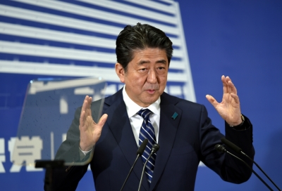 Abe s popularity hits lowest over cronyism scandal