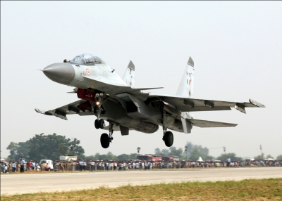 DRDO successfully test-fires guided bomb from Sukhoi fighter