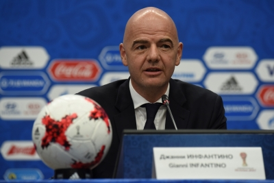 FIFA president says 2018 World Cup in Russia to be best in history