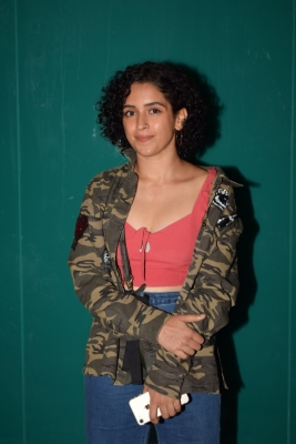 Sanya Malhotra to gain weight for Vishal Bhardwaj s film
