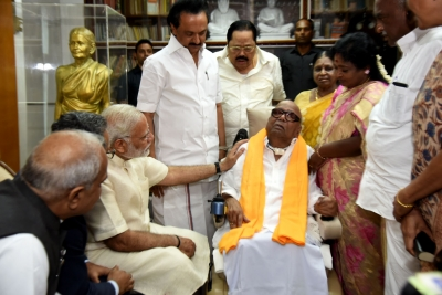Modi s meeting with Karunanidhi  courtesy visit : Jaitley