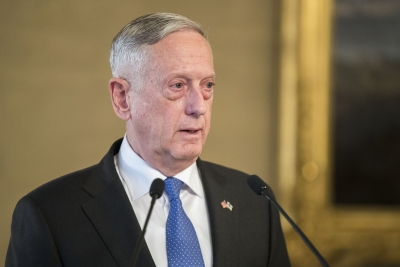 Mattis to visit Seoul to discuss Korean Peninsula situation