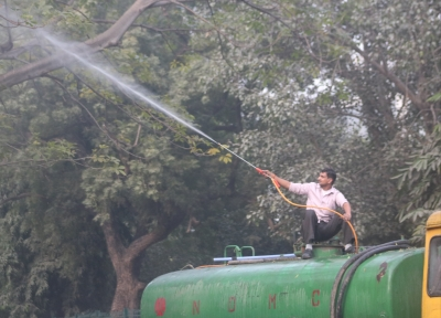 Delhi working on modalities for aerial sprinkling of water