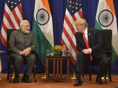 ALERT: Modi speaks with Trump on phone, red flags Pak's 'extreme rhetoric'