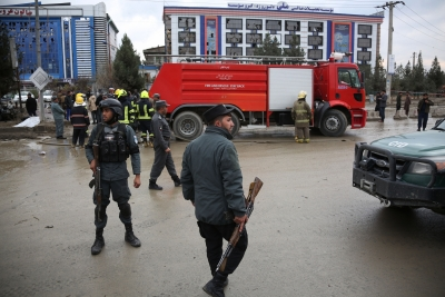 Afghanistan: At least five policemen killed in Kabul blast