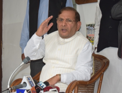 Pressure from  all sides  for my disqualification: Sharad Yadav