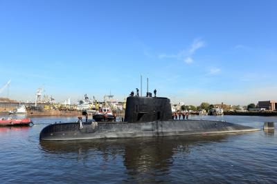 Sounds not from missing Argentine sub