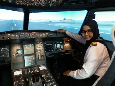 Hijab is no hurdle: Dream of bakery worker s daughter takes wings (IANS Special Series)