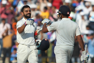 India put 406 run target before Sri Lanka