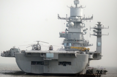 INS Vikramaditya catches fire, naval officer dies
