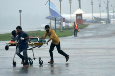 Kerala cyclone toll 36, 96 missing