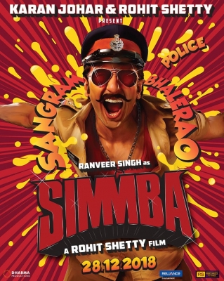 Ranveer turns quirky policeman for  Simmba