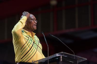South Africa s ruling party decides to remove Zuma