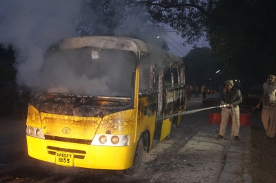 Tense calm in BHU after late night campus violence