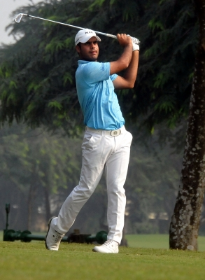 Shubhankar makes halfway cut at British Open