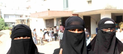 Man booked for wearing burkha, entering ladies toilet