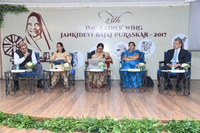 Jankidevi Bajaj award conferred on Shamshad Begum of Chhattisgarh