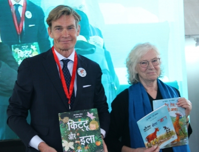 Hindi version of Swedish children s book launched at World Book Fair