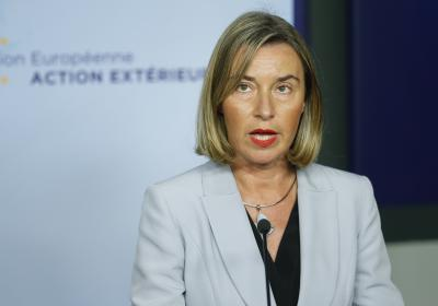 EU foreign policy chief urges new UN-led drive for Syrian peace