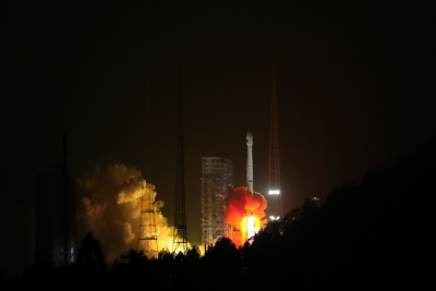 China sends twin navigation satellites into space