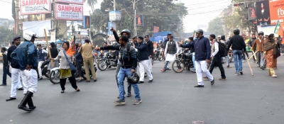 BJP-Trinamool clashes erupt over bike rally