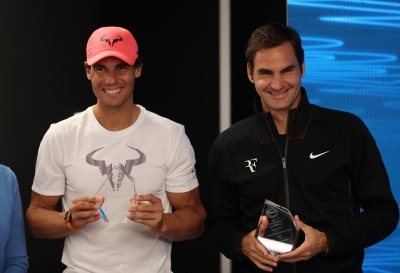Nadal, Djokovic, favourites at Australian Open, says Federer