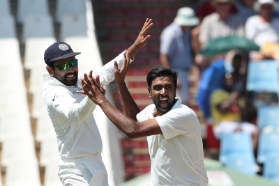 2nd Test: S. Africa pegged back by late Indian bowling show (Roundup)