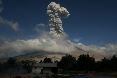 Indonesia's Mt. Sinabung erupts again