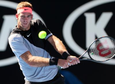 Del Potro eliminates Ferrer at Indian Wells