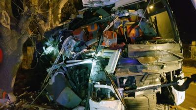 11 killed in Turkey bus accident