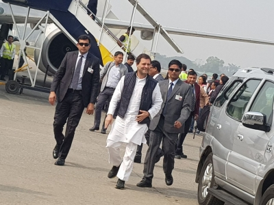 Rahul Gandhi on two-day visit to Amethi