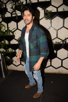 Varun gives fans first look into  October  on V-Day