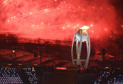 Opening ceremony launches Winter Olympics in S. Korea (Lead)