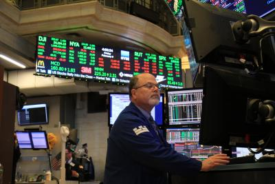 US stocks trade higher after inflation data