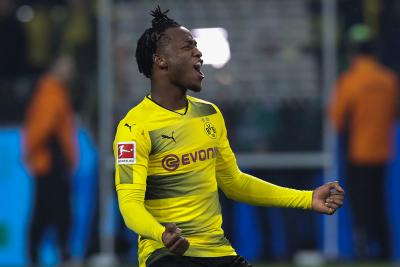Dortmund s Batshuayi may miss rest of season due to ankle injury