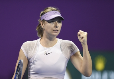 Sharapova kicks off Italian Open with victory over Barty