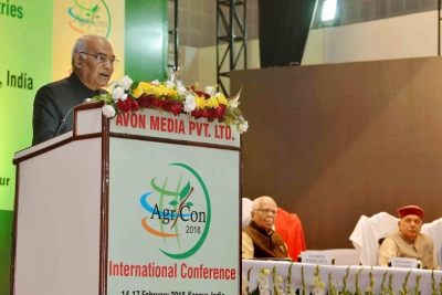 Farmers across India need different solutions, says President