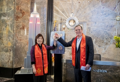 Empire State Building shines for Chinese New Year