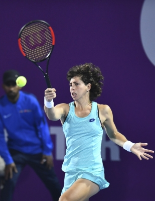 Carla Suarez reaches Indian Wells quarters