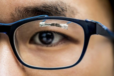 This wearable sensor can track your eye movement