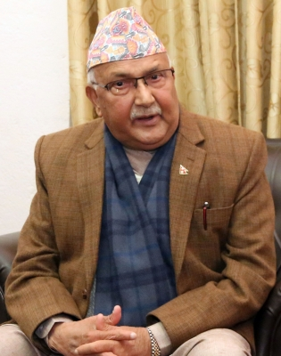 Oli sworn in as 41st PM of Nepal (Lead)