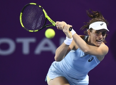 Konta beats Spain s Suarez Navarro at Qatar Open