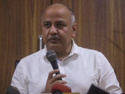 Sisodia alleges encroachment of school land by BJP
