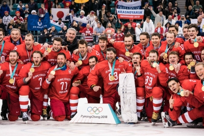 Russia honours is PyeongChang Olympics medal winners