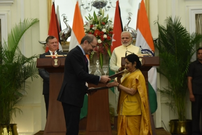 Defence cooperation among 12 India-Jordan agreements signed
