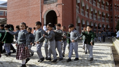 Schools to reopen in J&K at 'parents' risk'