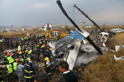 Nepal plane crash toll climbs to 51, probe panel formed (Second Lead)