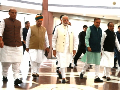 BJP issues whip, willing to press ahead with Budget-related processes