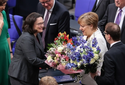 Merkel re-elected German Chancellor for 4th term